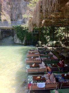 Saklıkent Kanyon in Muğla, Türkiye