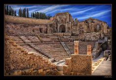 The Roman Theatre of Carthago Nova Cartagena Murcia Spain  ( via Charlie JPG )