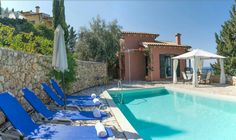 Our paradise! Private Pool, Greece Travel, Oasis, Greenery, Terrace, Swimming Pools, Summer Vacations, Island, Villas