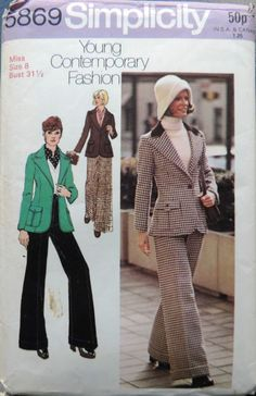 Ebay 70s sewing pattern