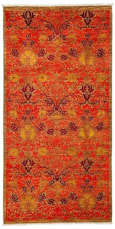 """Solo Rugs Arts and Crafts Area Rug, 4'3"""" x 8'4"""""""