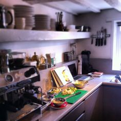 Kitchen on it's first test run Relax, Kitchen, Furniture, Home Decor, Cuisine, Cooking, Room Decor, Home Kitchens, Kitchens