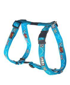 ROGZ FANCY DRESS DOG H-HARNESS - COMIC. Available from Nuzzle.co.za