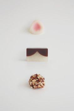 ねこをイメージした和菓子 〜とらや「甘いねこ展」wagashi (sweets)