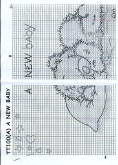 Schema punto croce Baby 2