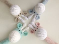 Riikka Was here: Kirahvi helistin Crochet Necklace