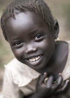 :) Majang tribe village Ethiopia by Eric Lafforgue, via Flickr