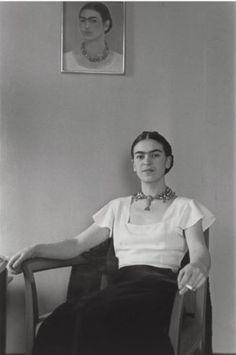 Lucienne Bloch, Frida at Barbizon hotel