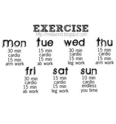 1000+ images about Daily Workout Routine on Pinterest | Daily workout ...