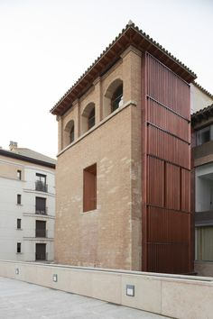 Refurbishment of the West Tower in Huesca City Hall / ACXT
