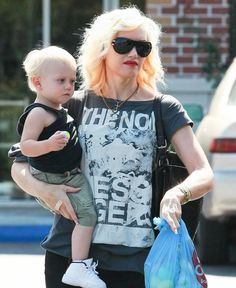 Gwen Stefani with AM Eyewear