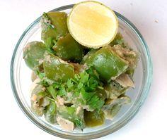 Green Pepper Mughlai - By VahChef @ VahRehVah.com
