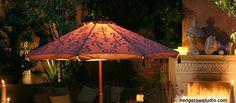 Hedgerow Studio Lighted Patio Umbrella Patio Umbrellas, Studio Lighting, Outdoor Decor, Home Decor, Decoration Home, Room Decor, Interior Decorating