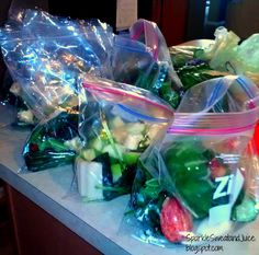 Time Saving Tip - Freezing Produce for Green Smoothies