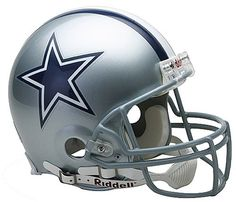 NFL Dallas Cowboys Full Size Proline VSR4 Football Helmet * Learn more by visiting the image link.Note:It is affiliate link to Amazon.