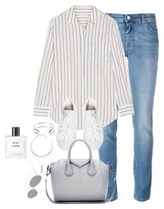 """Untitled #3121"" by theaverageauburn on Polyvore featuring Givenchy, Equipment, Giles & Brother, Acne Studios and Chanel"
