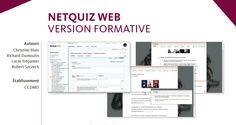 Netquiz Web, pour créer des évaluations