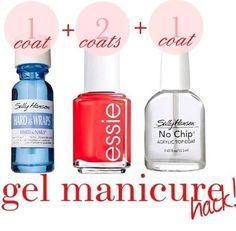 DIY manicure. Always wanted to have my own gel nails at home! Will try this soon!