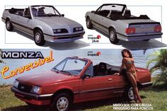 PROPAGANDAS ANTIGAS Chevrolet Monza, Concept Cars, Cars And Motorcycles, Dream Cars, Classic Cars, Vehicles, Cavalier, Advertising, Tropical