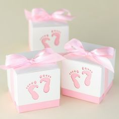 Baby Feet Favor Boxes by Beau-coup