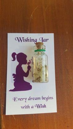 Dandelion DIY wishing jar