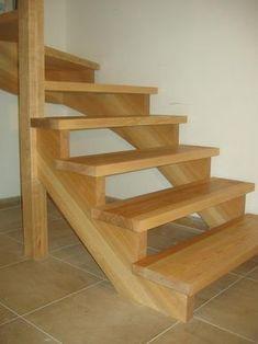 09-03 Escalier 2/4 tournant rampe sur rampe avec crémaillére. « Espace Bois More