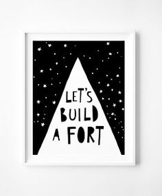 Let's build a fort - Mini Learners
