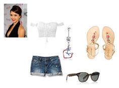 """""""Untitled #2050"""" by mrs-sanders ❤ liked on Polyvore featuring Quiksilver, Lilly Pulitzer and Ray-Ban"""