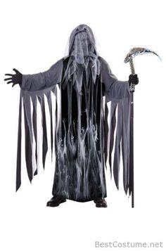 Black Reaper Men's Halloween Costume
