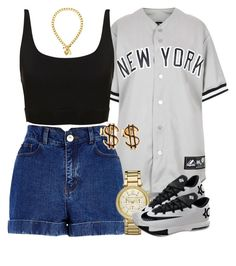"""""""Untitled #1050"""" by power-beauty ❤ liked on Polyvore featuring Topshop, River Island, Michael Kors, NIKE and Juicy Couture"""