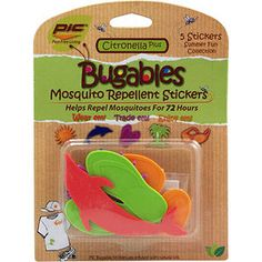 PIC Bugables Mosquito Repellent Stickers - Mills Fleet Farm