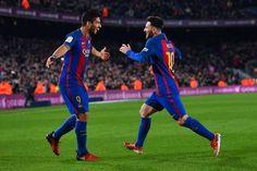 Aksi Gila Suarez dan Messi di Game Show Jepang