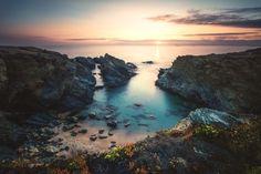 Sunset, Sines, Algarve, Portugal, 2014