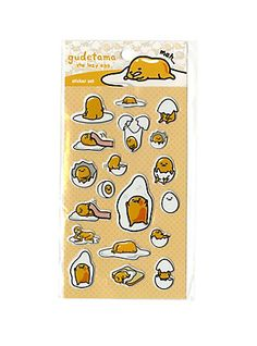 Gudetama Puffy Sticker Sheet,