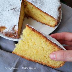 Torta all'arancia senza glutine e lattosio