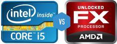 Intel Core i5 3570K vs AMD FX 8350 Intel's still got it.. Buy Blue!