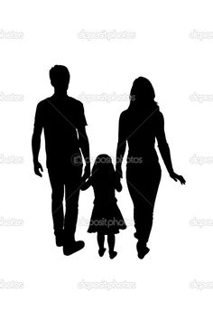 Before you head to the mall with your kids this holiday, save yourself some future therapy bills and read my real-life cautionary tale, Stranger Danger. Mom Dad Tattoos, Parent Tattoos, Family Tattoos, Silhouette Family, Silhouette Clip Art, Love My Parents Quotes, Mother Daughter Art, Armband Tattoo Design, Lion Illustration