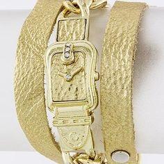 Watch Chain Wrap Bracelet