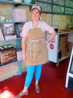 The Back in the Day Bakery proper attire….