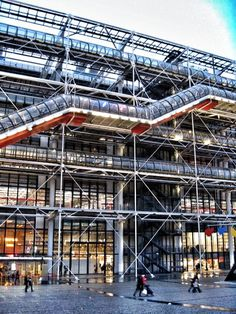 Even if it remains a controversial museum, I absolutely love it. One of ma favourite in Paris. 'Centre Georges Pompidou, Paris'