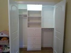 kids small closet organization