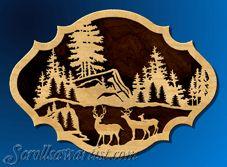 Scroll Saw Patterns :: Wildlife - Scroll Pattern, Scroll Saw Patterns, Plasma Cutter Art, Baumgarten, Intarsia Woodworking, Metal Artwork, Woodburning, Picture On Wood, Forest Animals