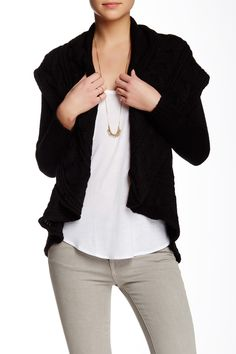 Love Token - Norah Cable Knit Cardigan  at Nordstrom Rack. Free Shipping on orders over $100. Sponsored by Nordstrom Rack.