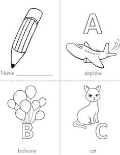Alphabet Mini Books                                 Coloring Pages        Handwriting Sheets        Mini Books        Your Favorites            Animals | Beginning Readers | Colors | Holidays | Letters | Numbers | People | Seasons | Shapes | Word Families