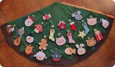 новогодняя елка из ткани для малыша