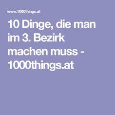 10 Dinge, die man im 3. Bezirk machen muss - 1000things.at Boarding Pass, Vienna, Austria, Do Your Thing