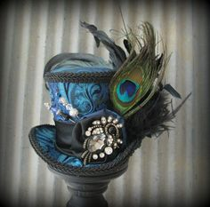 Nice hat, love the peacock feather!