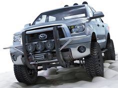 Toyota Tundra off-road 2007 2008 2009 2010 2011 2012 2013 Model available on Turbo Squid, the world's leading provider of digital models for visualization, films, television, and games. Toyota Tundra Off Road, Toyota Sequioa, Toyota Tundra Accessories, Toyota Trucks, 3d Max, Land Cruiser, 4x4, Monster Trucks, Cars