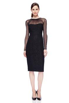 Maggy london black satin dress