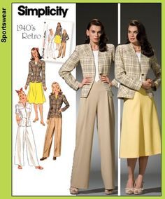 """Would like to make the pants. So sick of """"low-rider"""" pants. High-waisted pants that show off the natural waist line really are so flattering and not Mom-jeans if done right!"""